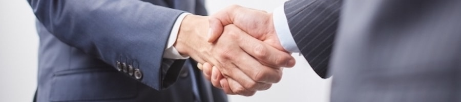 Mbase握手ビジネス成立イメージ